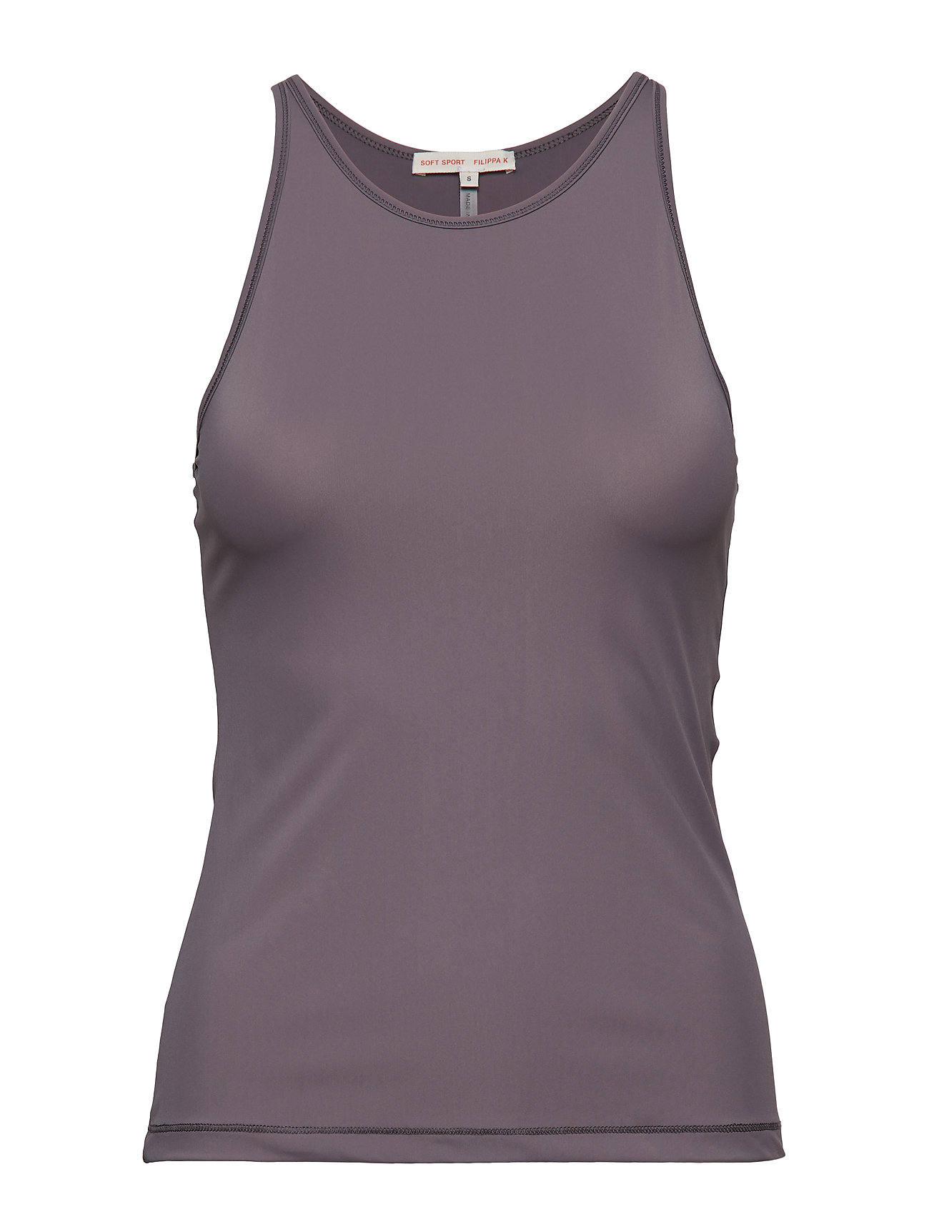 Filippa K Soft Sport Smooth Tank - BLACK PEAR