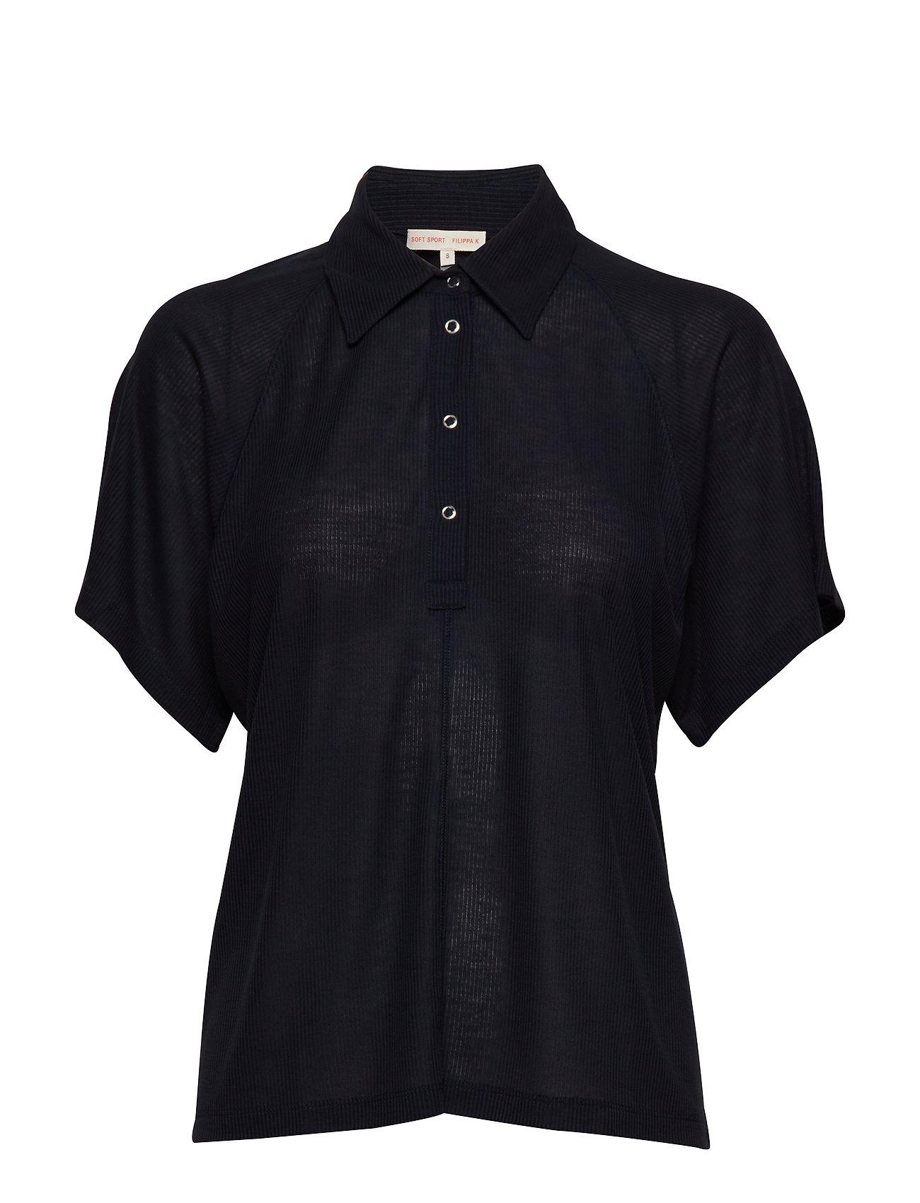 Filippa K Soft Sport Rib Polo Shirt