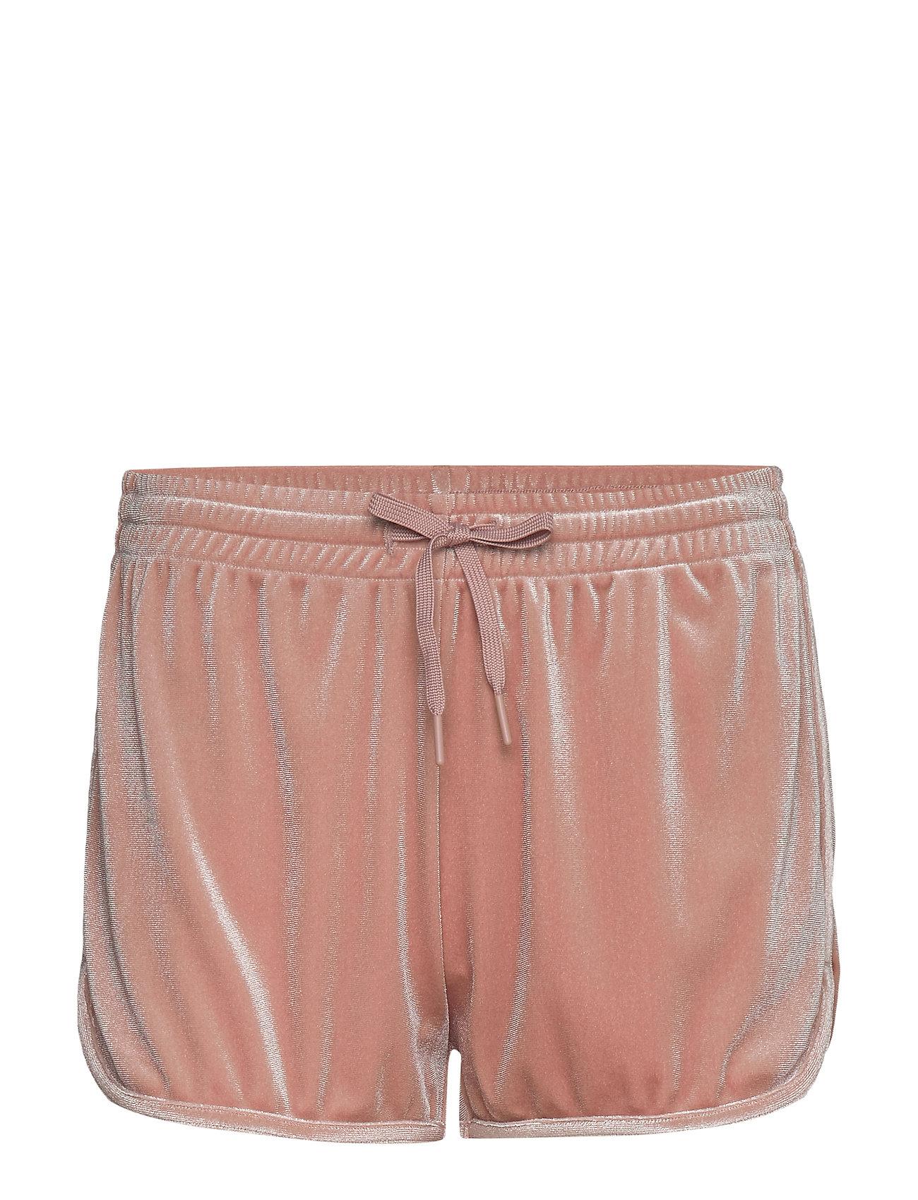 Filippa K Soft Sport Sporty Velvet Shorts - DUSTY ROSE