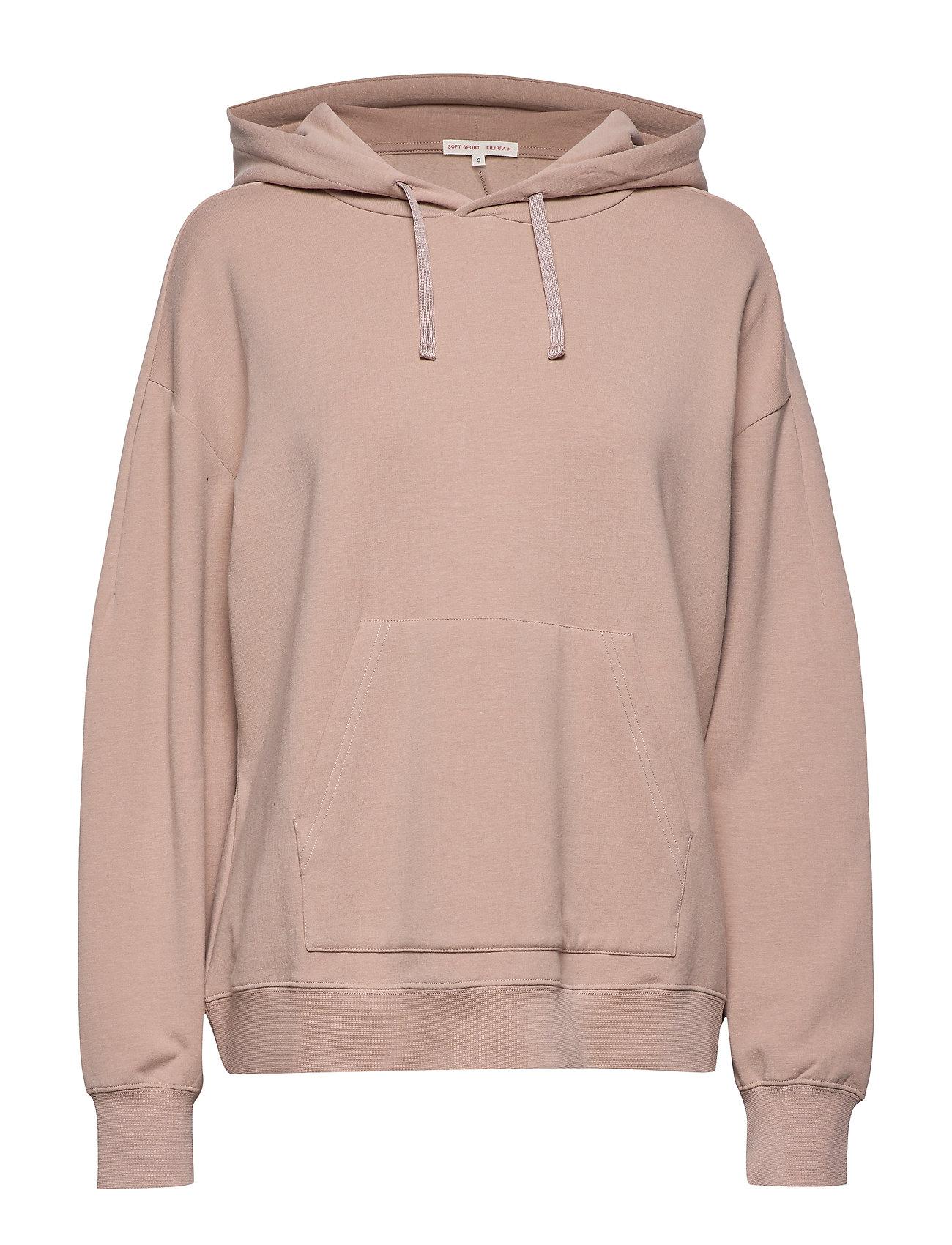 Filippa K Soft Sport Hooded Sweatshirt - DUSTY ROSE