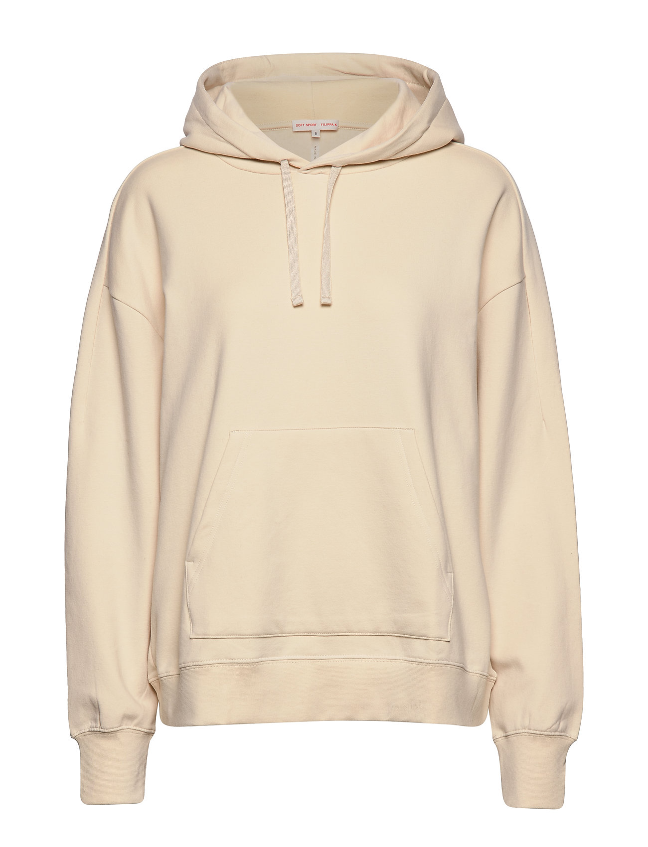 Filippa K Soft Sport Hooded Sweatshirt - SMOKY PEAC