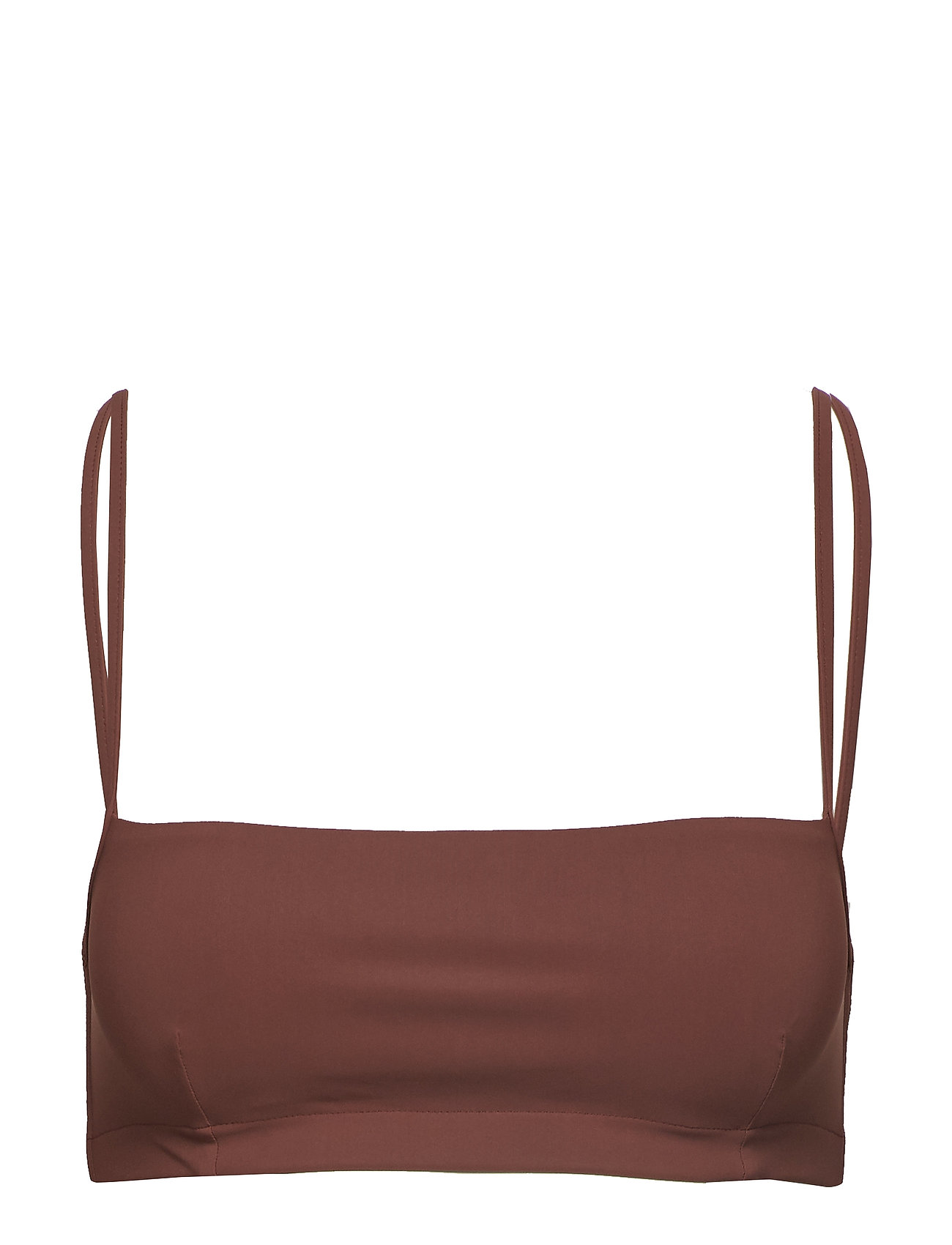 Filippa K Soft Sport Bandeau Strap Top - BURNT ROSE