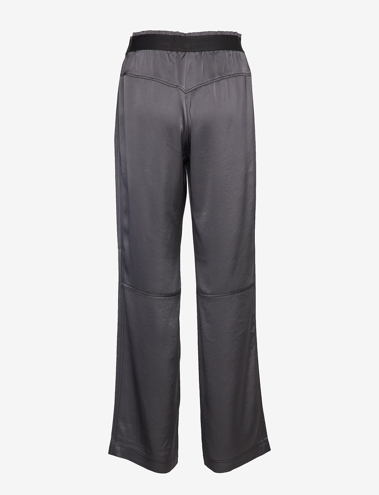 Filippa K Soft Sport - Satin Track Pant - sports pants - metal - 1