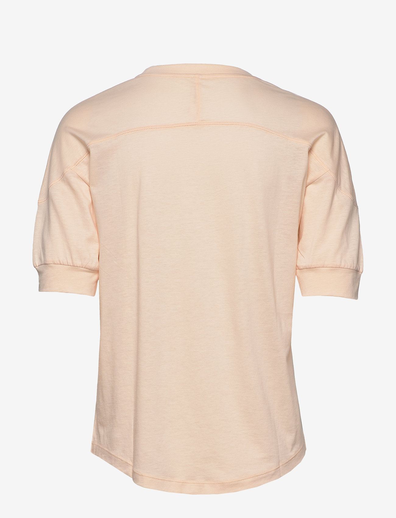 Filippa K Soft Sport - Soft T-shirt - t-paidat - meringue - 1