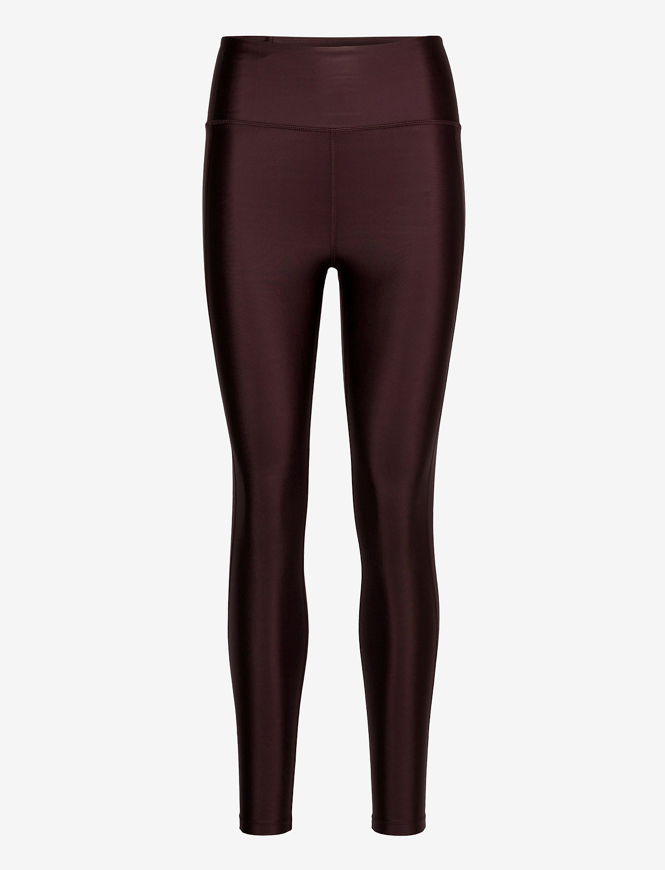 Filippa K Soft Sport - Cropped Gloss Legging - compression tights - maroon - 0