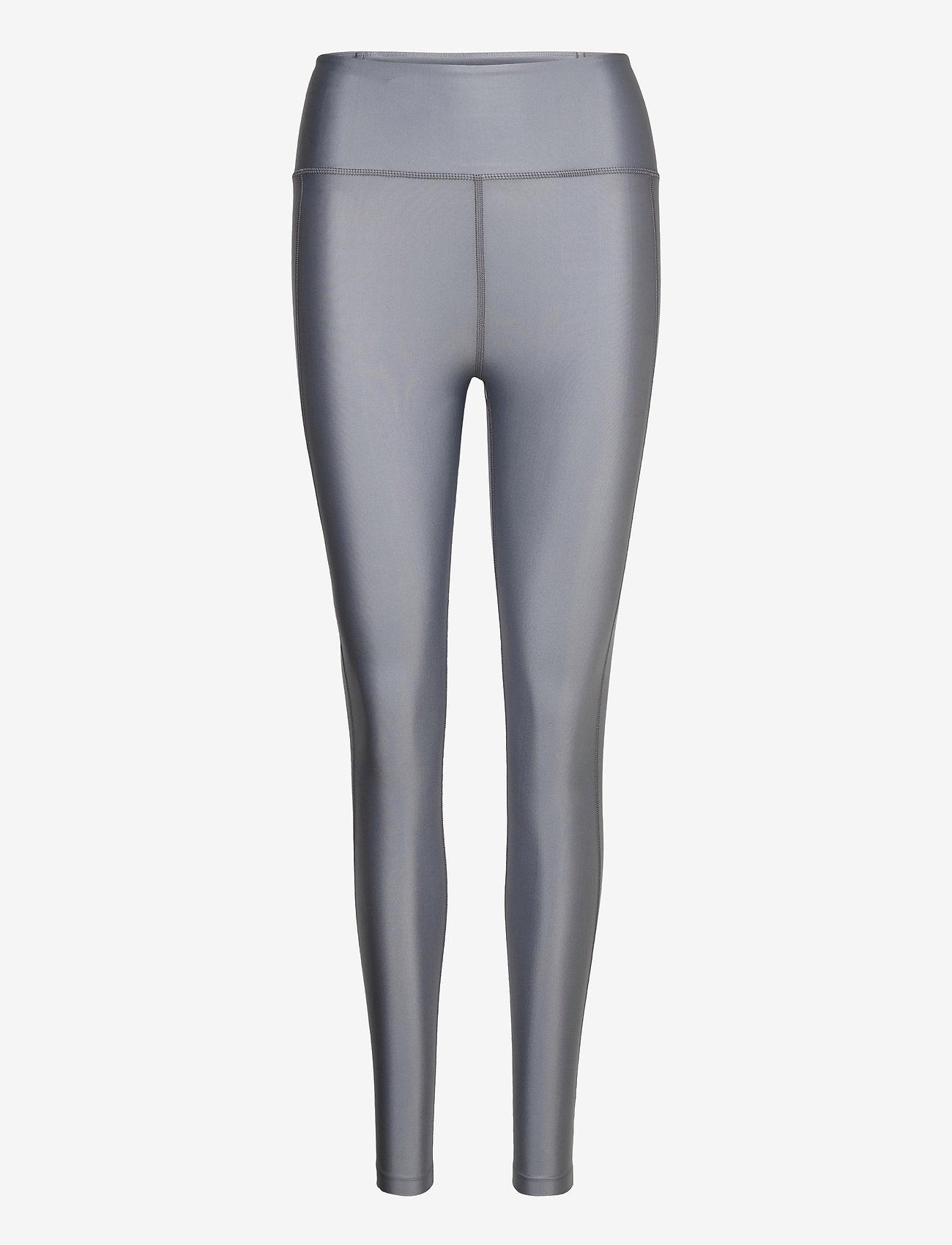 Filippa K Soft Sport - Cropped Gloss Legging - running & training tights - silver gre - 0