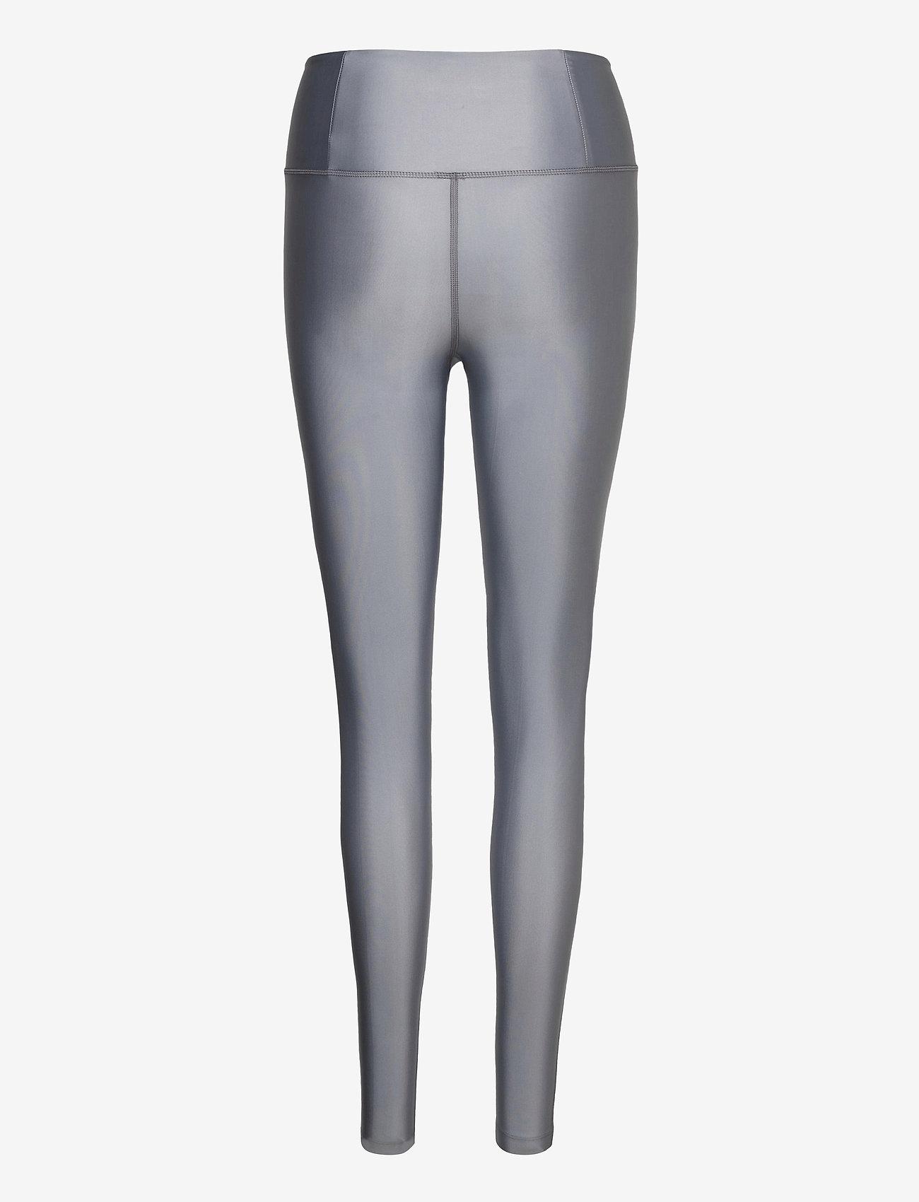 Filippa K Soft Sport - Cropped Gloss Legging - running & training tights - silver gre - 1