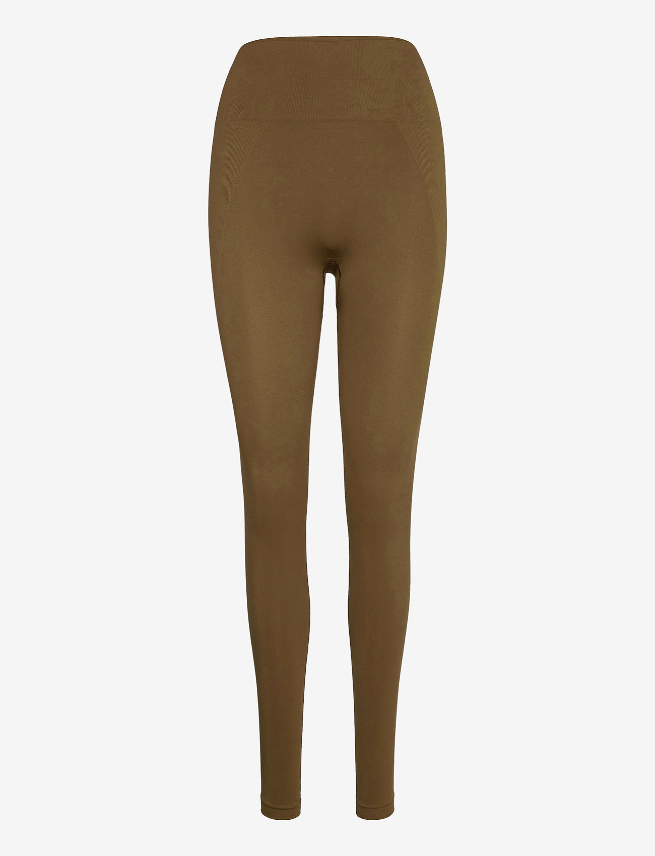 Filippa K Soft Sport - High Seamless Leggings - running & training tights - mud - 0