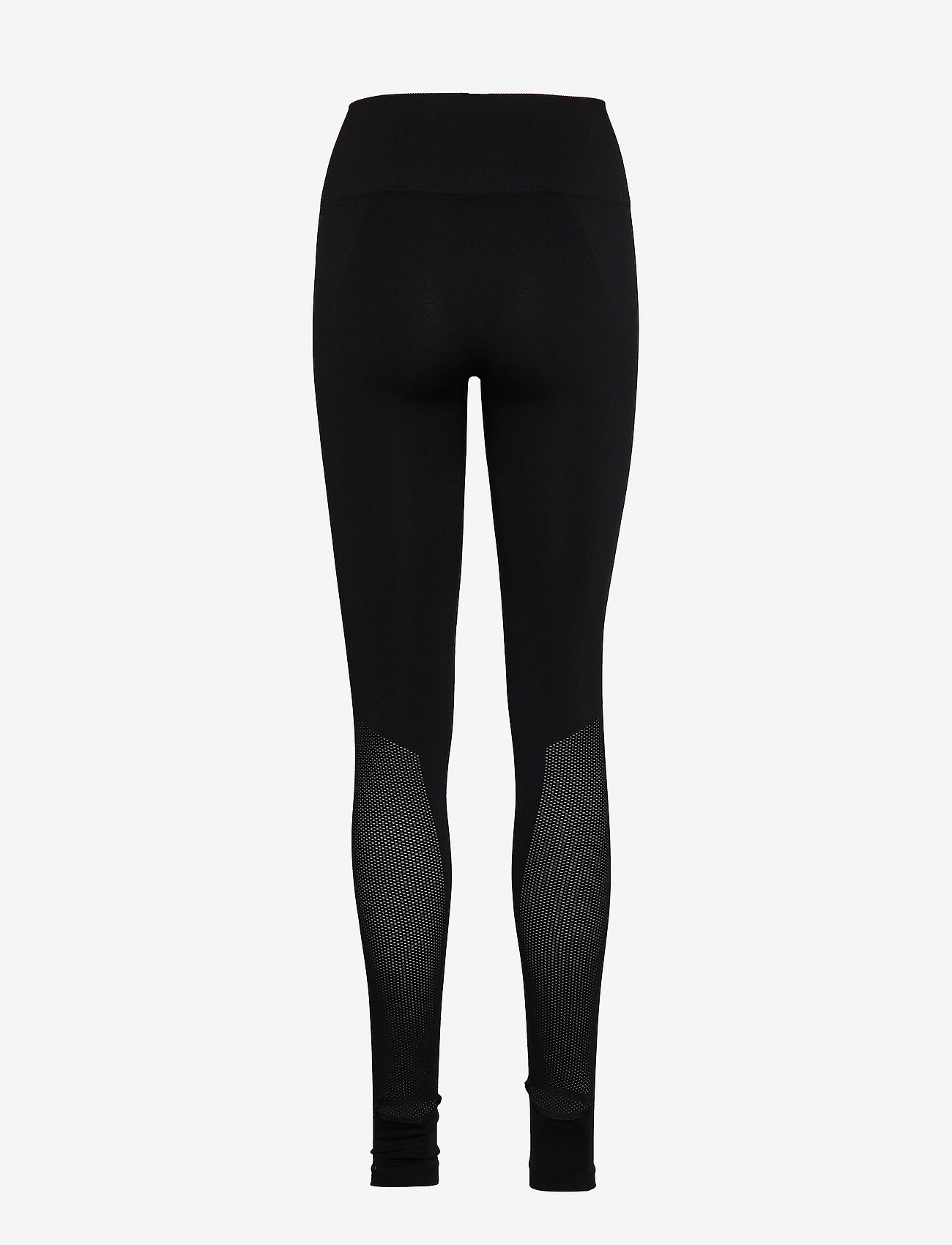 Filippa K Soft Sport - Seamless Open Heel Mesh Leggin - running & training tights - black - 1