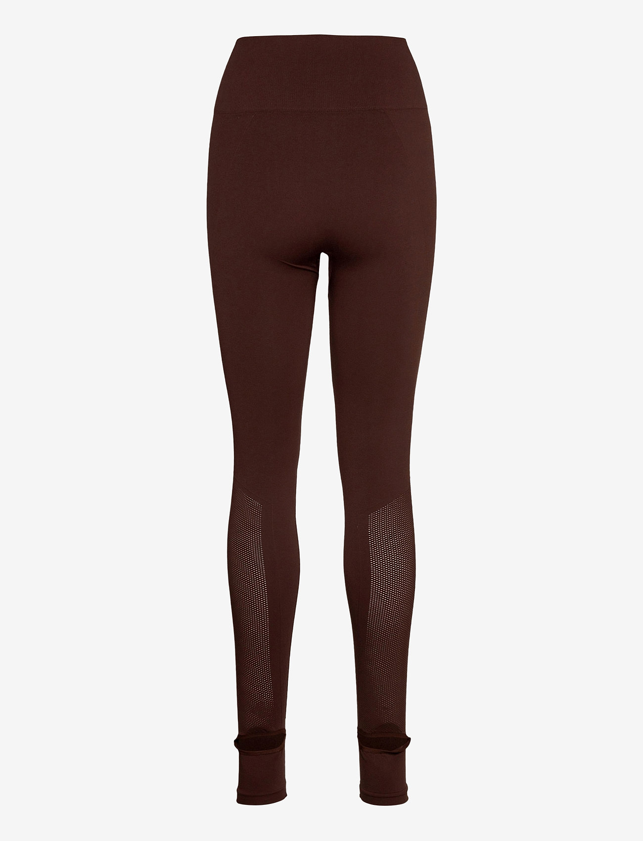 Filippa K Soft Sport - Seamless Open Heel Mesh Leggin - running & training tights - maroon - 1