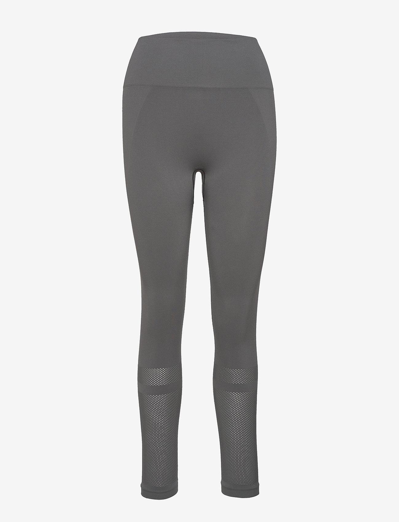 Filippa K Soft Sport - Mesh Legging - running & training tights - green grey - 0