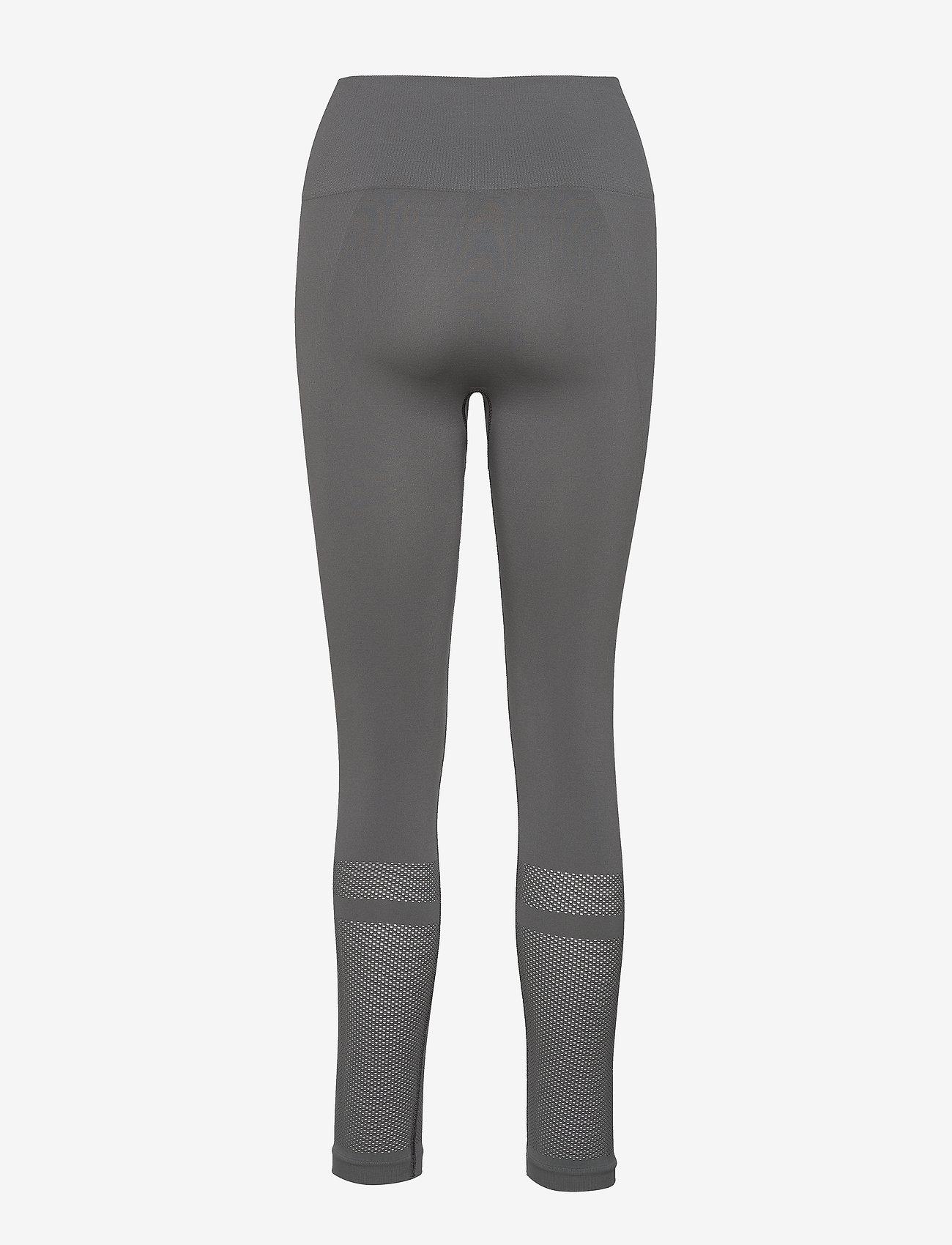 Filippa K Soft Sport - Mesh Legging - running & training tights - green grey - 1