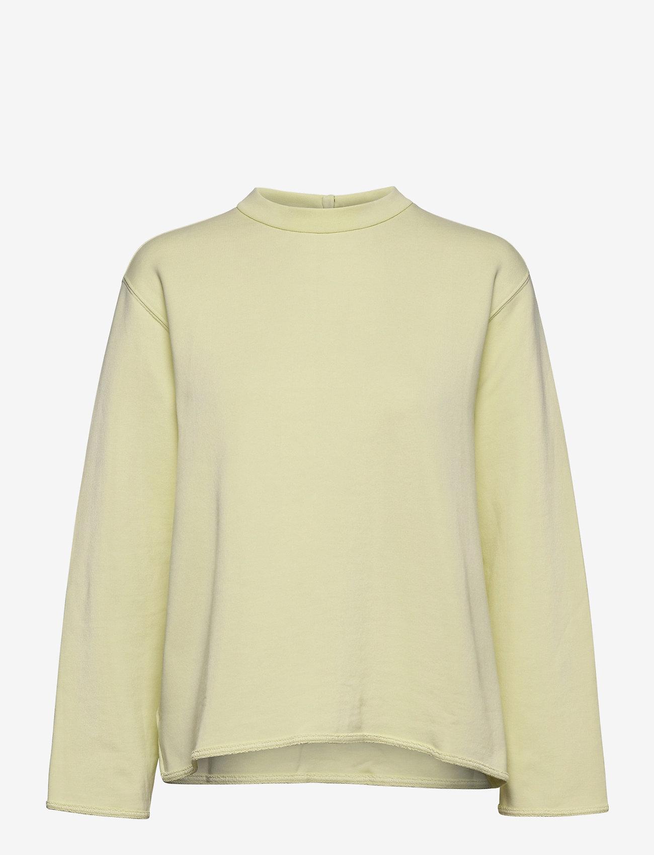 Filippa K Soft Sport - Zip Sweatshirt - svetarit - acid lime - 0