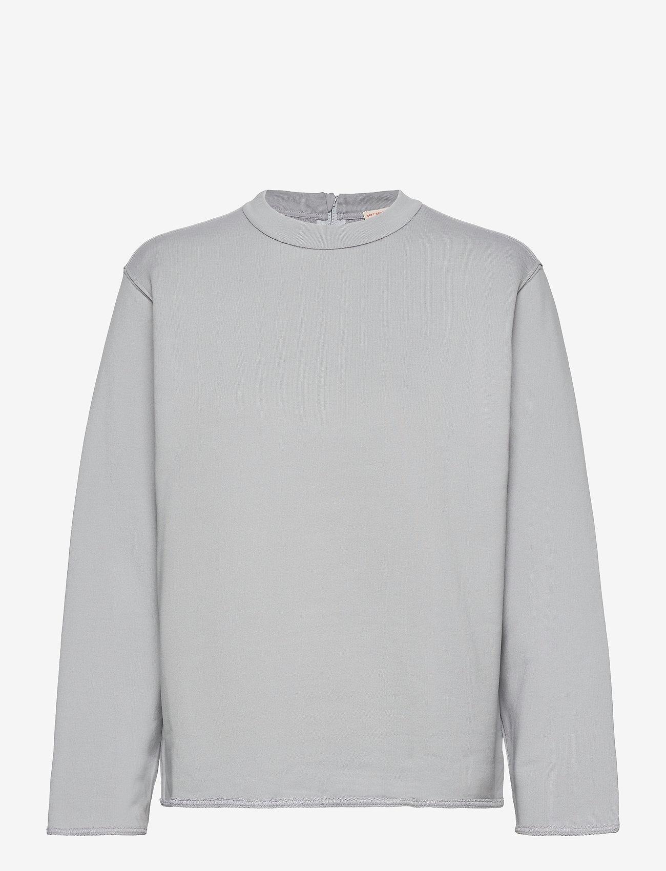 Filippa K Soft Sport - Zip Sweatshirt - svetarit - cloud - 0