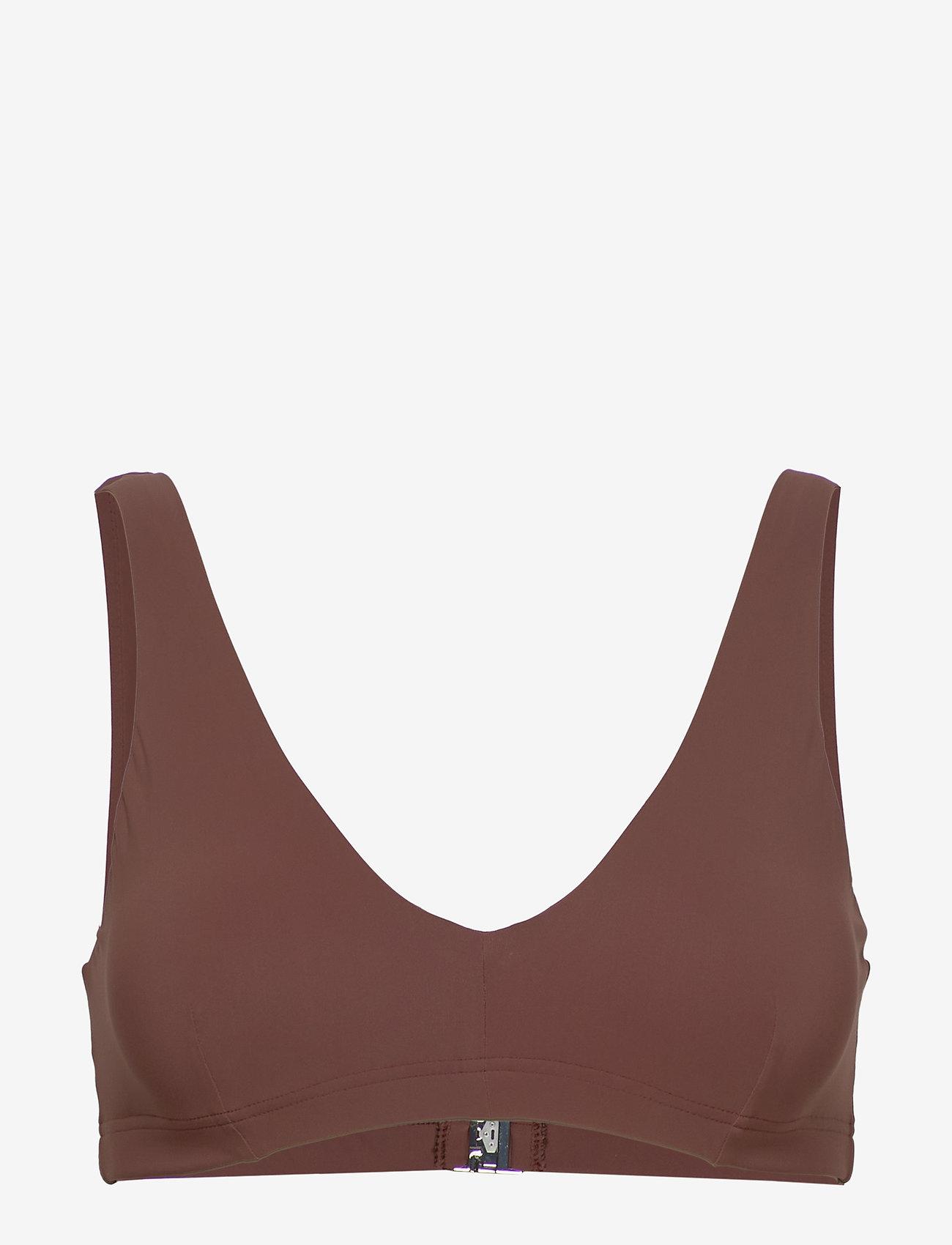 Filippa K Soft Sport - Bikini Bra Top - hauts de 2 pièces  - burnt rose - 0