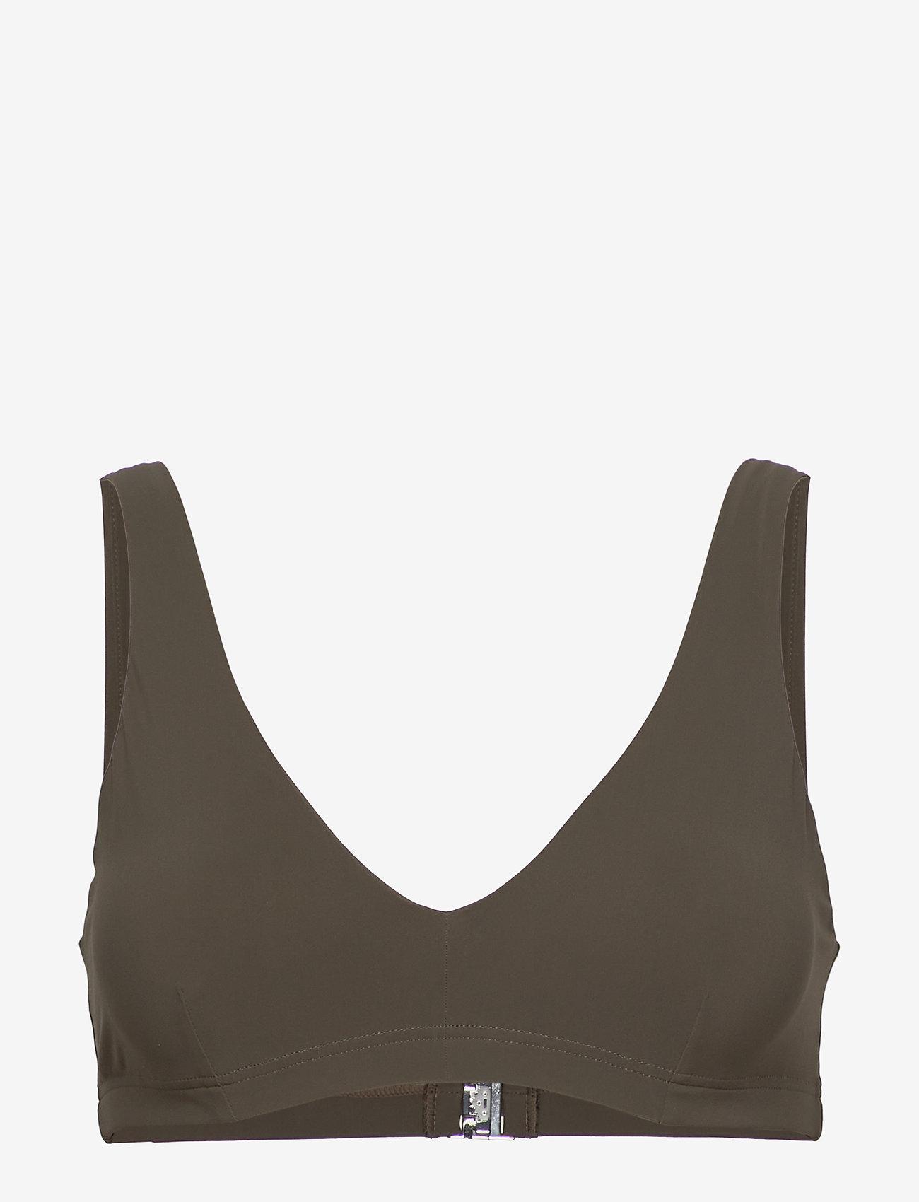 Filippa K Soft Sport - Bikini Bra Top - góry strojów kąpielowych - olive - 0