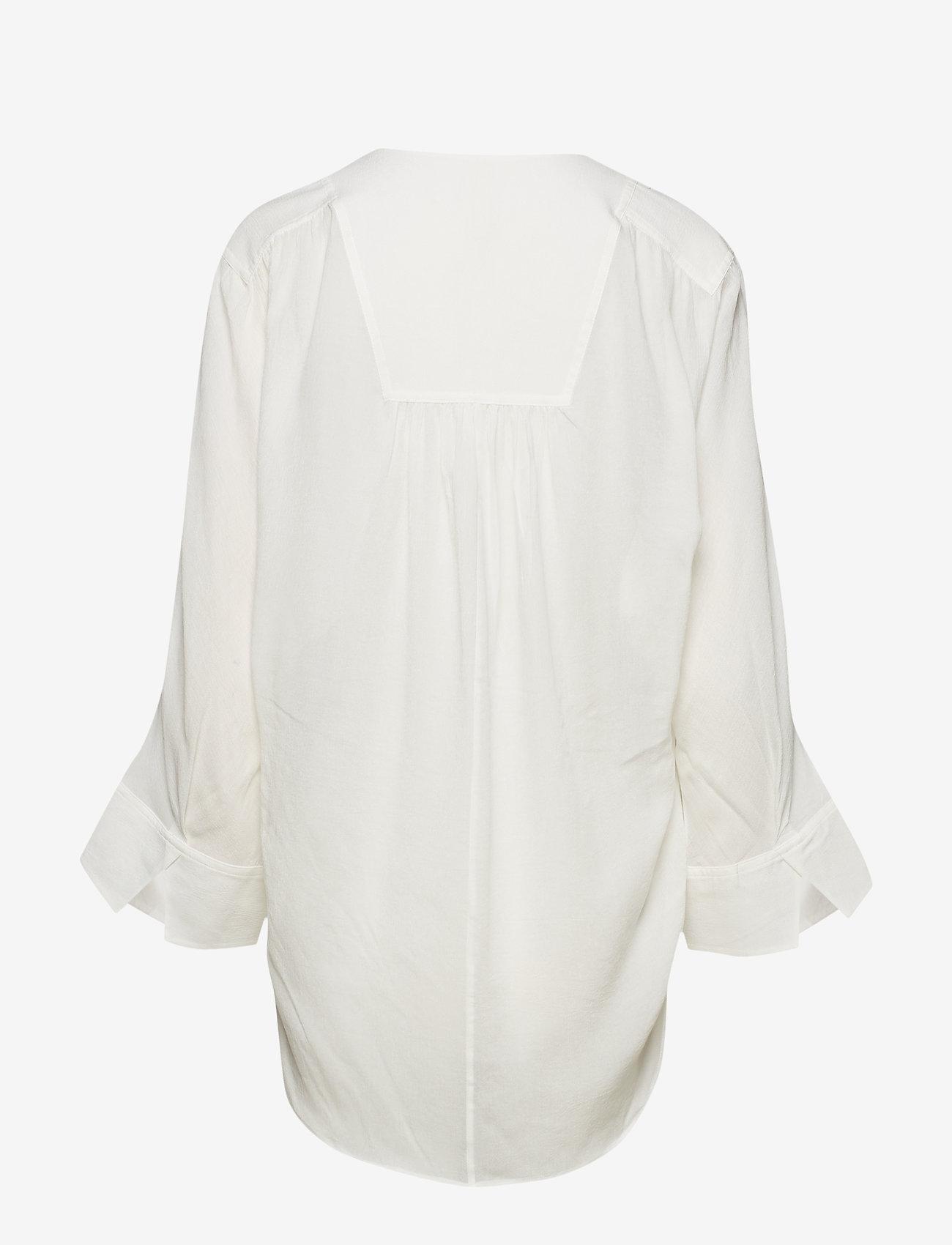 Filippa K Soft Sport - Gathered Beach Tunic - off white - 1