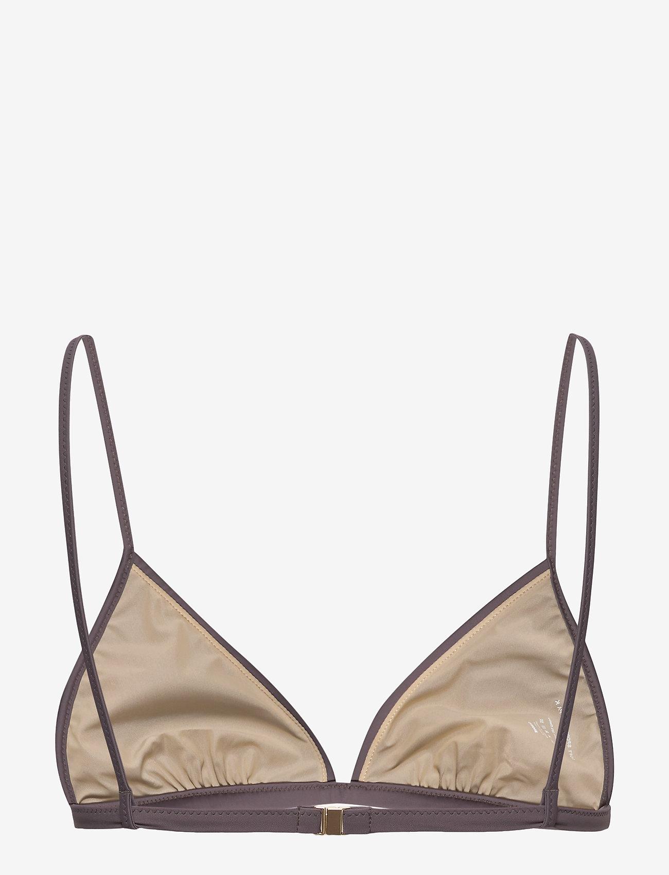 Filippa K Soft Sport - Shiny Triangle Bikini Top - hauts de 2 pièces  - mauve - 1