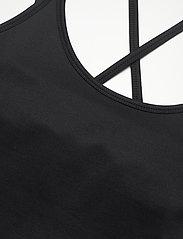 Filippa K Soft Sport - Cross Back Yoga Top - tank tops - black - 2