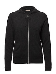 Soft Sport Cashmere Hoodie - ANTRACITE