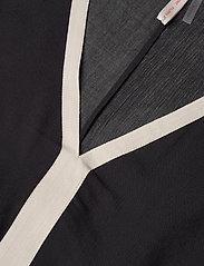 Filippa K Soft Sport - Two-Tone Beach Kaftan - strandtøj - black/ivor - 2