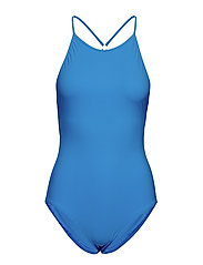 Tie-back Swimsuit - FRENCH BLU
