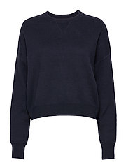 Double Knit Sweater - NIGHT SKY
