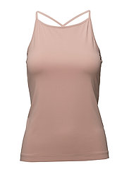 Soft Cross-back Tank - PALE PINK