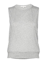 Cool-down Top - LIGHT GREY