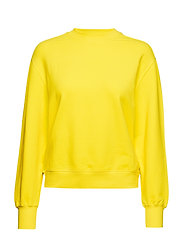 Classic Brushed Sweatshirt - MARIGOLD