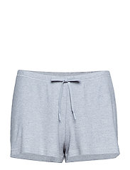 Silky Jersey Shorts - LIGHT GREY