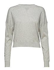 Light Knit Sweatshirt