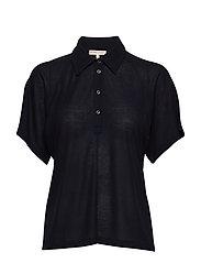 Rib Polo Shirt