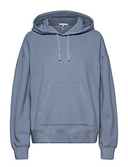 Hooded Sweatshirt - MISTY BLUE