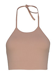 Seamless Halter Top - DUSTY ROSE