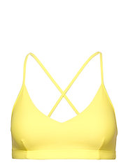 Cross-back Bikini Top - LEMON