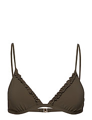 Frill Triangle Top - OLIVE