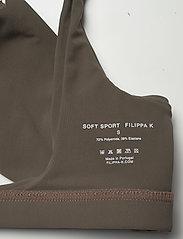 Filippa K Soft Sport - Bikini Bra Top - góry strojów kąpielowych - olive - 2