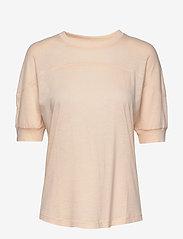 Filippa K Soft Sport - Soft T-shirt - t-paidat - meringue - 0