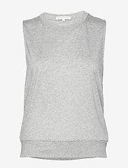 Filippa K Soft Sport - Cool-down Top - tank tops - light grey - 0
