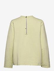 Filippa K Soft Sport - Zip Sweatshirt - svetarit - acid lime - 1
