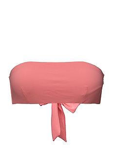 Bandeau Bikini Top - FLAMINGO