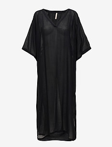 Beach Kaftan - BLACK