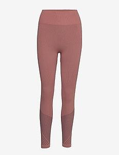 Striped Seamless Legging - løbe- og træningstights - anemone/ma
