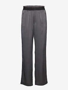 Satin Track Pant - sports pants - metal