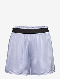 Satin Track Shorts - training korte broek - sky blue