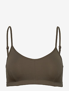 Soft Bra Top - sort bras:high - olive