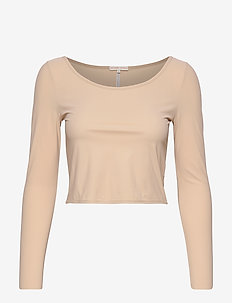 Cropped Dance Top - crop tops - plaster