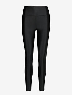 Cropped Gloss Legging - compression tights - black