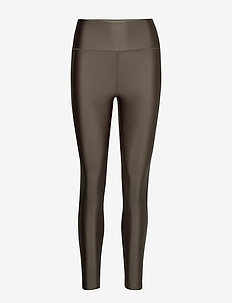 Cropped Gloss Legging - OLIVE